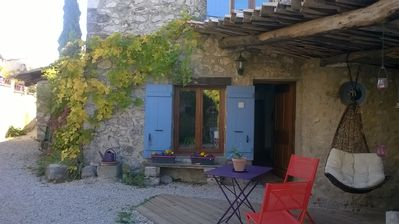 Photo for RAVISTING VILLAGE HOUSE in the heart of the Parc des Baronnies Provencales