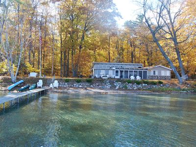 Photo for Peaceful lakefront cottage, Prime location, Nature Preserve at your back door