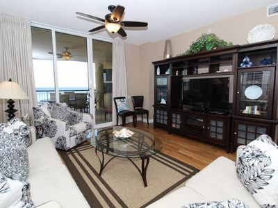 Photo for Beach Colony East 5A- Beach Front unit with large terrace & amazing views!