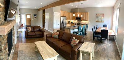 Photo for Large New Townhome w/Private Hot Tub + Bus Stop + 8 Beds