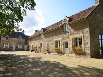 Photo for Close to the sea, in the heart of a magnificent property, charming farmhouse sleeps 12
