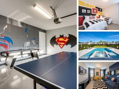Photo for EC269- 5 Br Encore Home With Super Hero Games Room