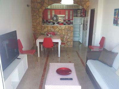 Photo for APARTMENT 2 BEDROOMS 1 BEDROOM BEACH