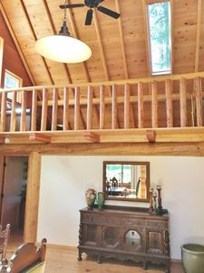 Photo for Camp Sherman log house on private 32 acre creekside estate