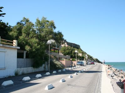 Photo for Rents T3 - Leucate beach - Ground floor - Beachfront