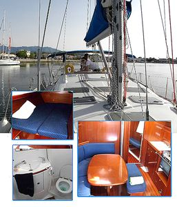Photo for Sailing Boathouse Beneteau 39.3 Aiolian Two