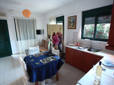 Photo for Excellent location quiet free parking, modernly furnished,electronically equippe