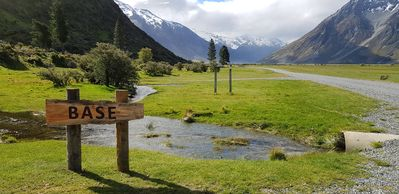 Photo for Nestled 7kms past Lake Ohau, in the Southern Alps of NZ lies Base.
