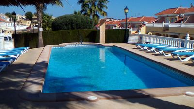 Photo for Fully equipped luxury holiday home in closed complex La Bosque1, 3 pools