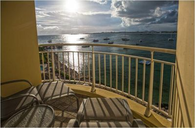 The Villas at Simpson Bay Resort & Marina Balcony View