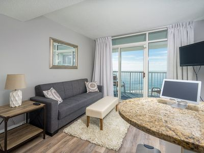 Photo for Sea Watch North 1011 - Beautiful View of the Atlantic Ocean From This 1 Bedroom Condo!