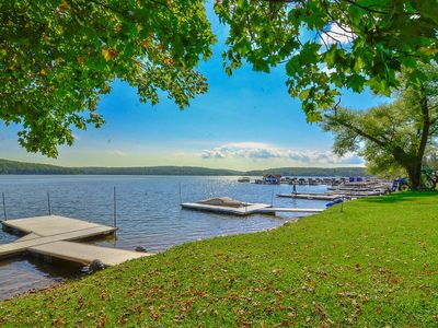 Photo for Smack Dab- 4 bedroom lakefront home in central Deep Creek Lake