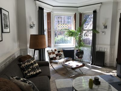 Photo for Beautiful Garden apartment on Park Slope's famous Sportsman's Row.
