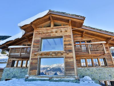 Photo for Unique 14 Person Chalet with Outdoor Pool, Wellness, Cinema
