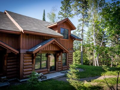 Photo for Christmas Cancellation Semi-Detached Log Cabin  Dec 22-26!