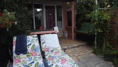 Photo for One bedroom apartment with terrace Zadar - Diklo, Zadar (A-12854-b)