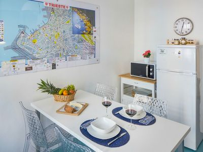 Photo for Nice apartment for a family of 3, located a few min away from the centre
