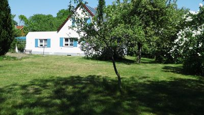 Photo for Great holiday home for 9 persons with large plot, barbecue + sauna + lake