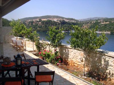 Photo for 1BR Apartment Vacation Rental in Meganisi