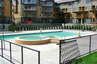 View of Our Patio, Directly Across the Pool