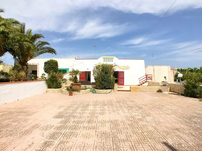 Photo for Splendid Villa located in Capilungo, marina of Alliste, just 150 meters from the wonderful sea