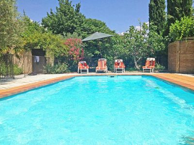 Photo for House with large garden and pool in the heart of the Luberon