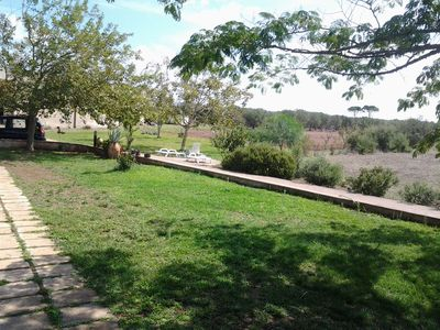 Photo for House surrounded by olive trees 2 km from the sea of Castro Marina.
