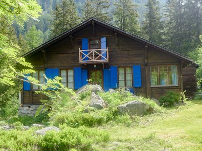 Photo for This 4-bedroom villa for up to 8 guests is located in Champex Lac and has Wi-Fi.....................