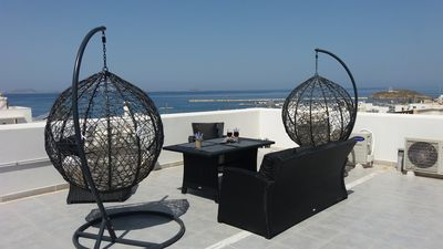 Photo for Family-Friendly Luxury  Apartment in Chora Naxos