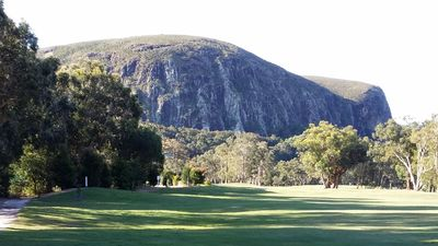 Majestic Mount Coolum viewed from the 17th Fairway right at the back door