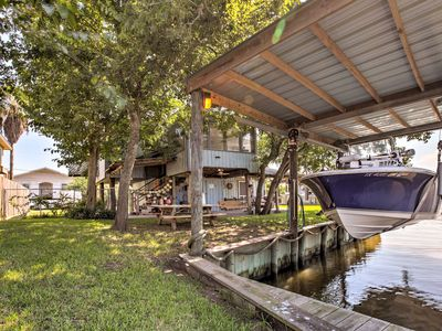 Photo for NEW! Canalfront San Leon Apt -By Kemah & Galveston