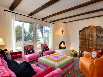 Photo for Colorful, spacious, lavish, and comfy! Air conditioned and Close to the Plaza!