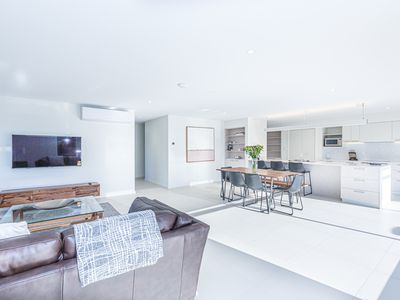 Photo for Luxurious Apartment, A Stones Throw From The Beach