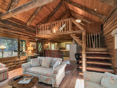 Photo for Log Cabin with Kayaks, Paddleboards, Wildlife