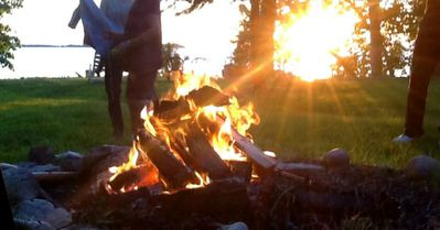 Bonfires. Smore' supplies available on request.