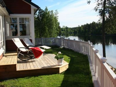 Photo for House by the lake, 3 bedrooms, boat, wonderful views