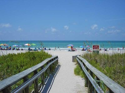 Photo for Rare Find! Modern, Private, Phenomenal Amenities and Only  5 mi to the Beach!