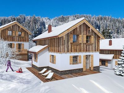 Photo for Ski In Ski Out chalet by the piste in beautiful Lungau