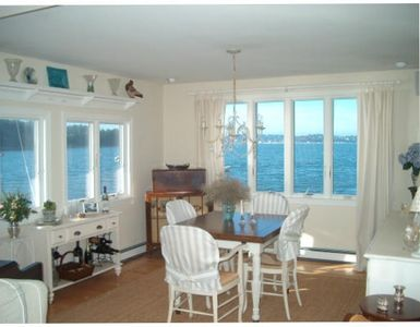 Photo for ENCHANTING 6 ROOM COTTAGE ON THE SEA