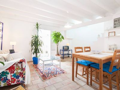 Photo for spectacular Mediterranean-style penthouse, very bright, with terrace.
