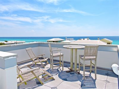 Photo for Across From Beach, Rooftop 360 Gulf Views in Seaside