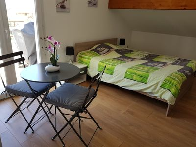 Photo for Beautiful fully equipped room near Swiss customs