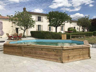 Photo for Luxury Farmhouse, Private pool, near Puy De Fou