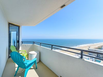 Photo for Breath taking Ocean and Bay views . Free internet and outdoor pool !! Enjoy this totally remodeled condo