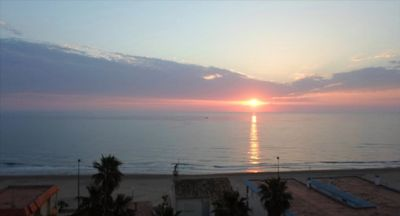 Photo for APPART GARROFER 2 MIRAMAR PLAYA, in air conditioned villa, 100m from the beach, wifi