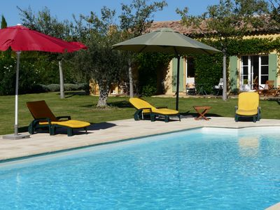 Photo for Recent and quiet Provençal Farmhouse rented accommodation, Mouries, in the heart of Alpilles