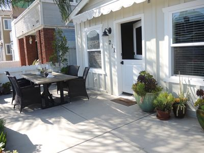 Our guests get hours of enjoyment on the patio.