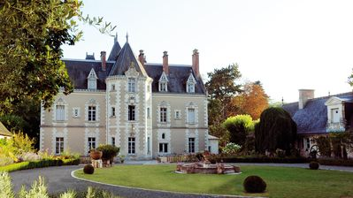 "Photo for ""The Garden"", Castle Fontenay, 17 Ha Park with Pool and Tennis."