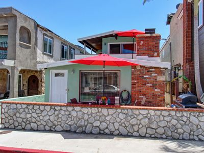 Photo for Sleeps 15! 30 Seconds to Beach! 4 Bikes/3 car Parking/2 Patios/Washer/WiFi