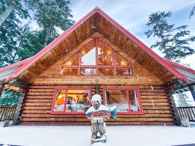 Photo for Beautiful Log Home with Hot Tub in Girdwood Near Alyeska Ski Resort